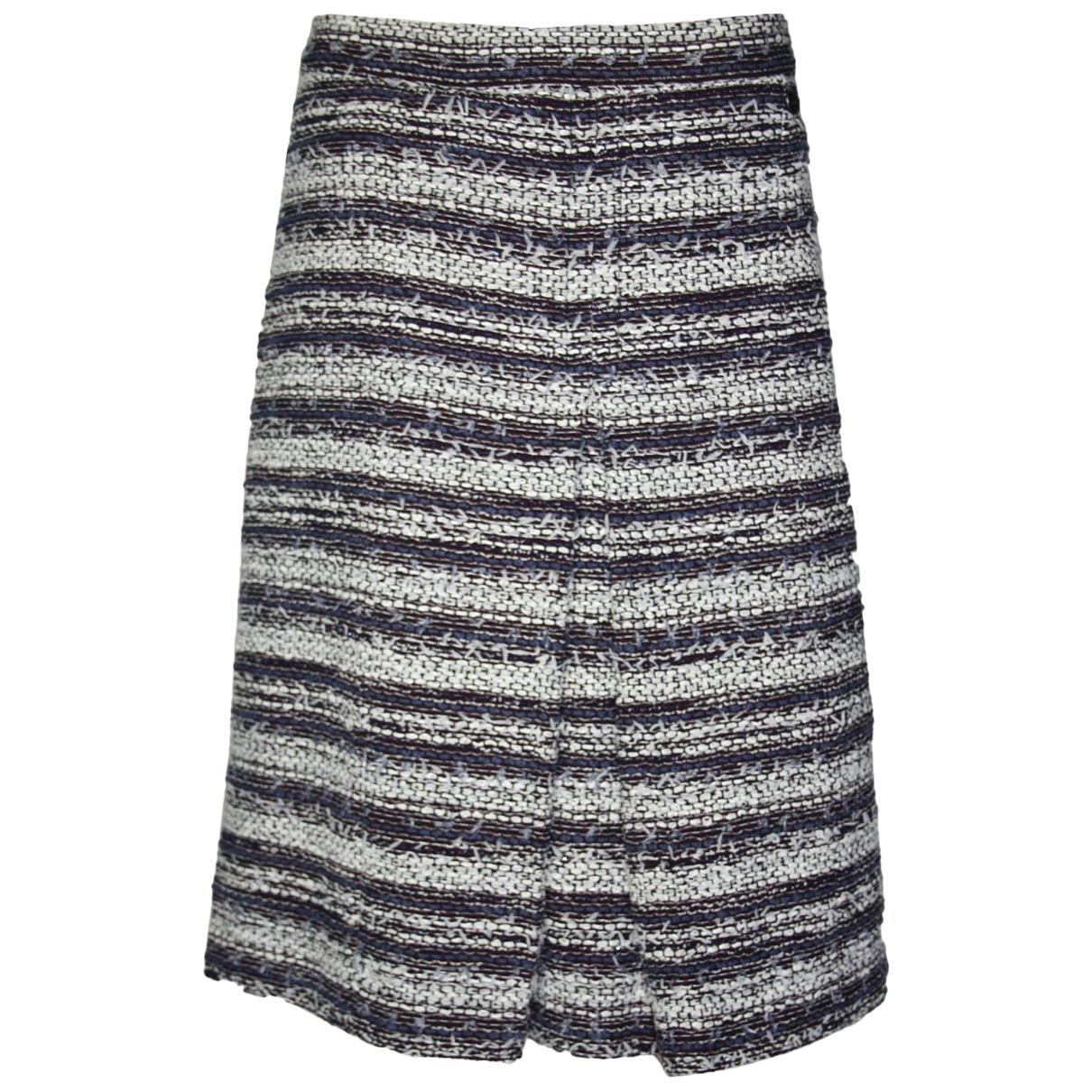 Chanel - Jupe   pour femme en tweed - bleu