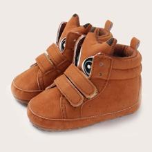 Baby Boy Velcro Strap High Top Sneakers