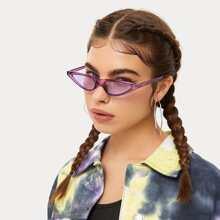 Sonnenbrille mit Cat Eye Design
