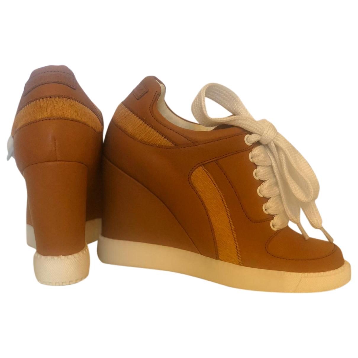 See By Chloe \N Sneakers in  Kamel Leder