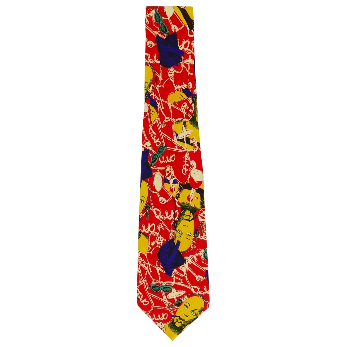 Jean Paul Gaultier \N Krawatten in  Bunt Seide