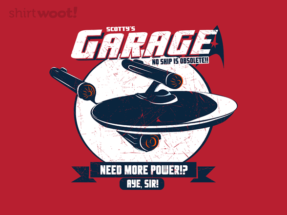 Scotty's Garage T Shirt