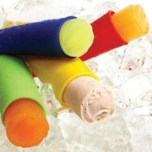 6 Stuecke Zufaellige Farben Silikon Eisform