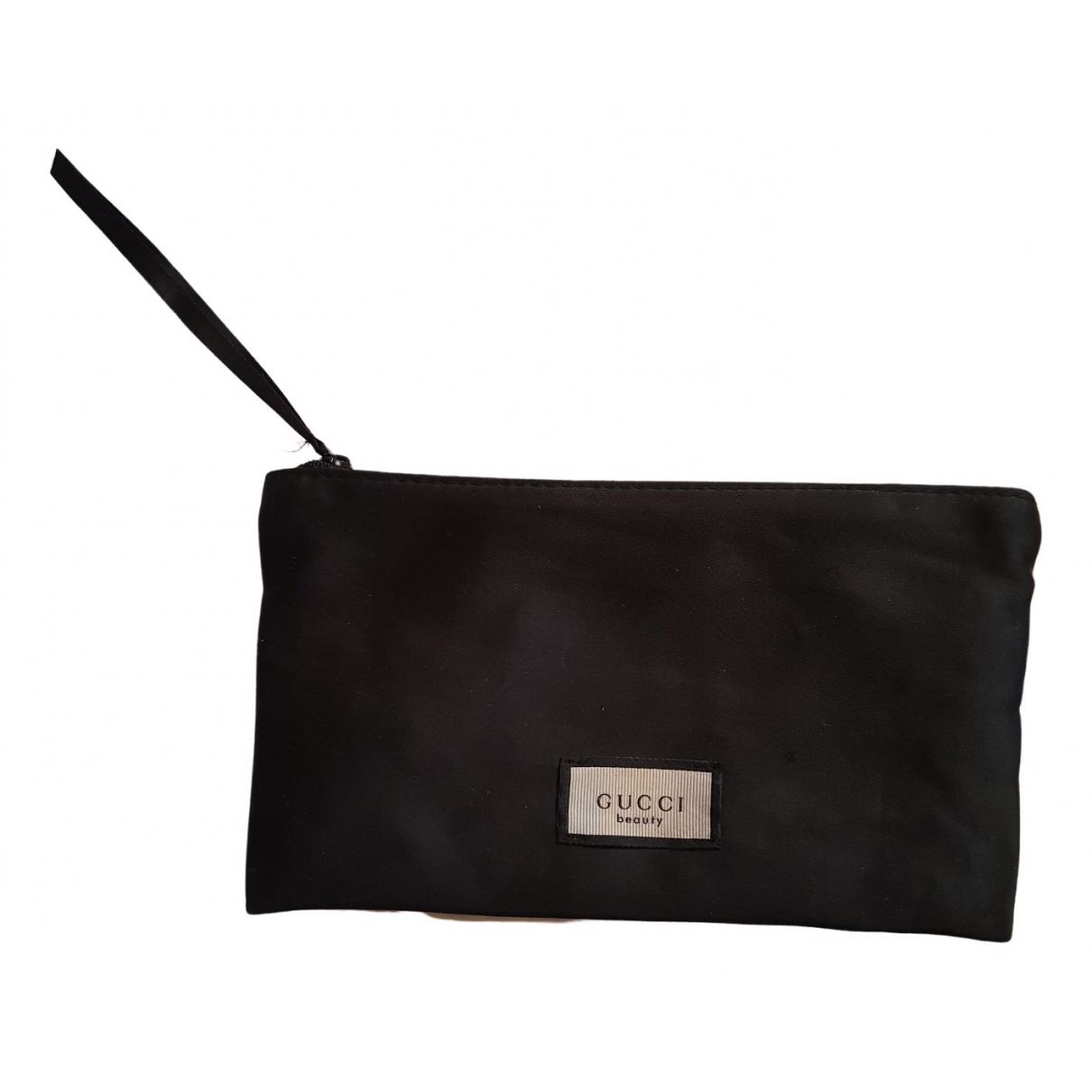 Gucci \N Black Silk Clutch bag for Women \N