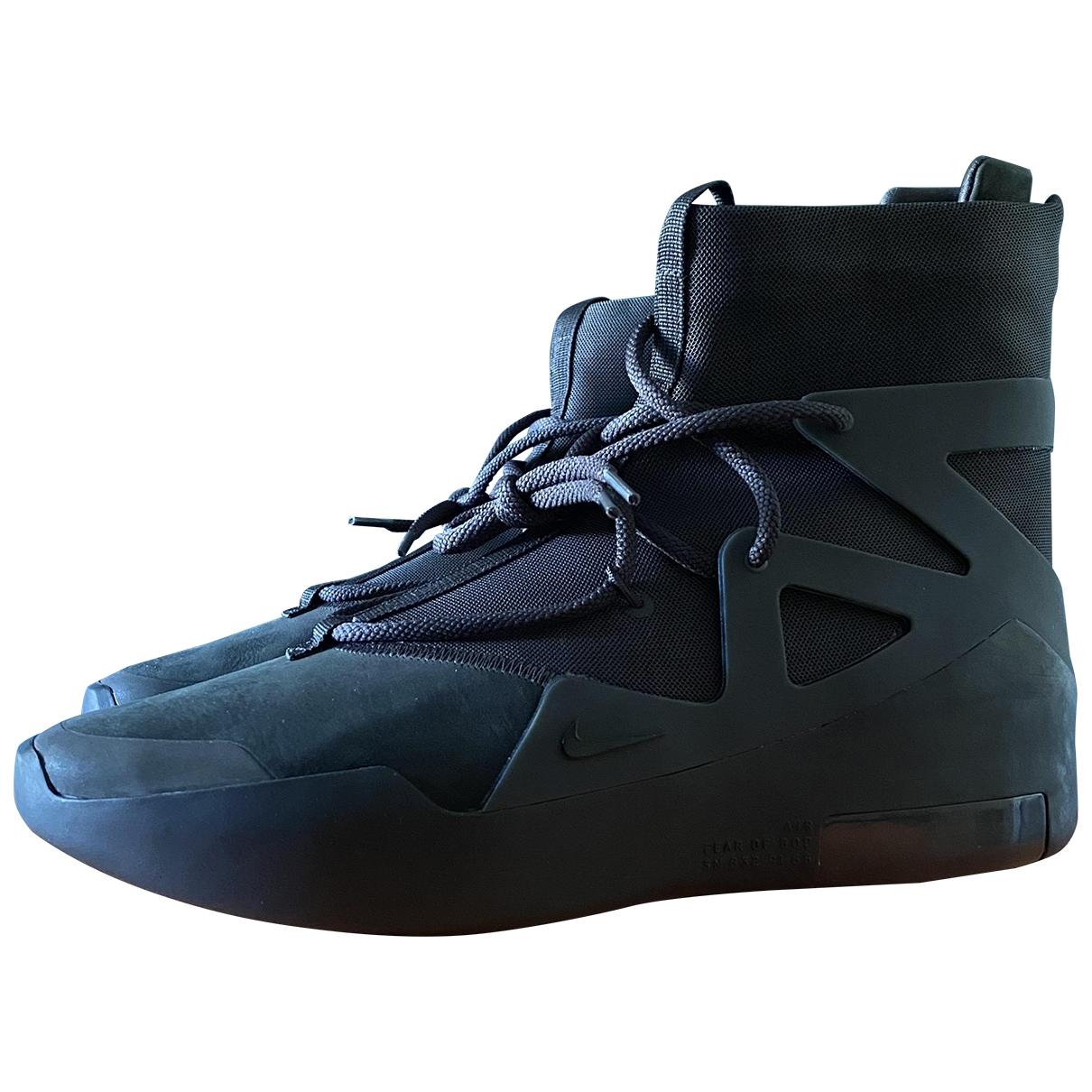 Deportivas Air FOG 1 de Cuero Nike X Fear Of God