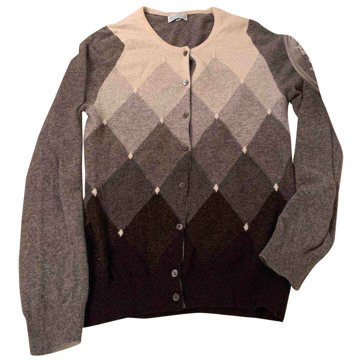 Ballantyne \N Pullover in  Grau Kaschmir