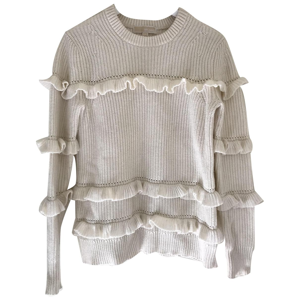 Michael Kors \N White Wool Knitwear for Women M International
