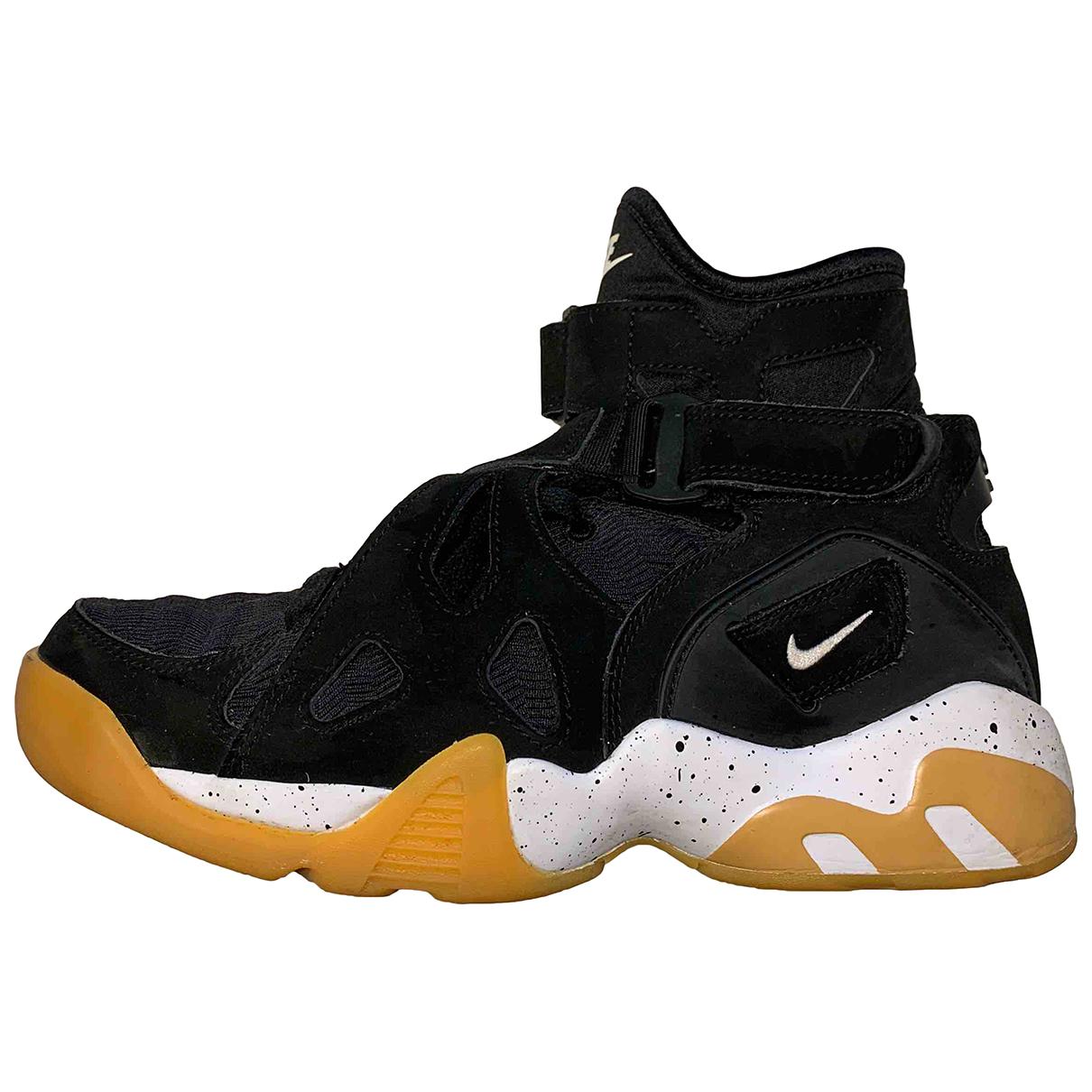 Nike \N Black Suede Trainers for Women 38.5 EU