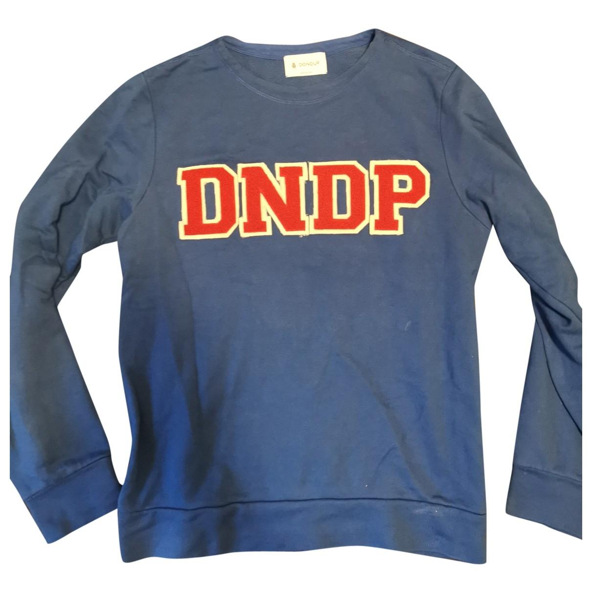 Dondup - Pulls.Gilets.Sweats   pour homme en coton - bleu