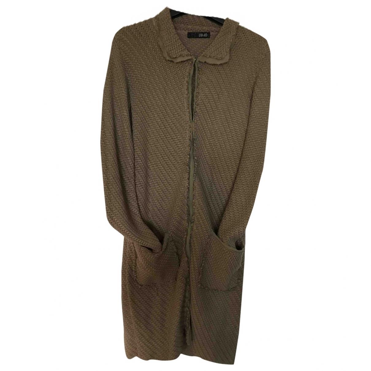Liu.jo - Pull   pour femme en coton - vert