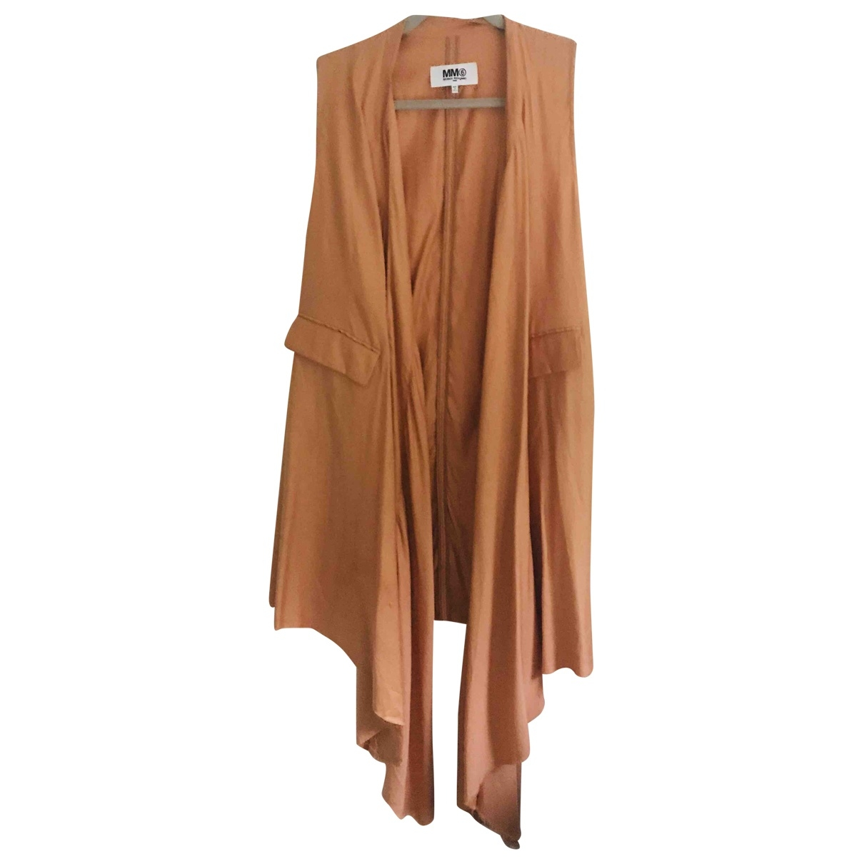 Mm6 \N Orange jacket for Women 38 FR