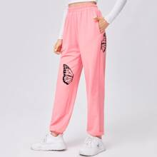 Butterfly Graphic Joggers
