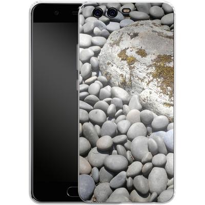Huawei P10 Silikon Handyhuelle - Zen Rocks von Brent Williams
