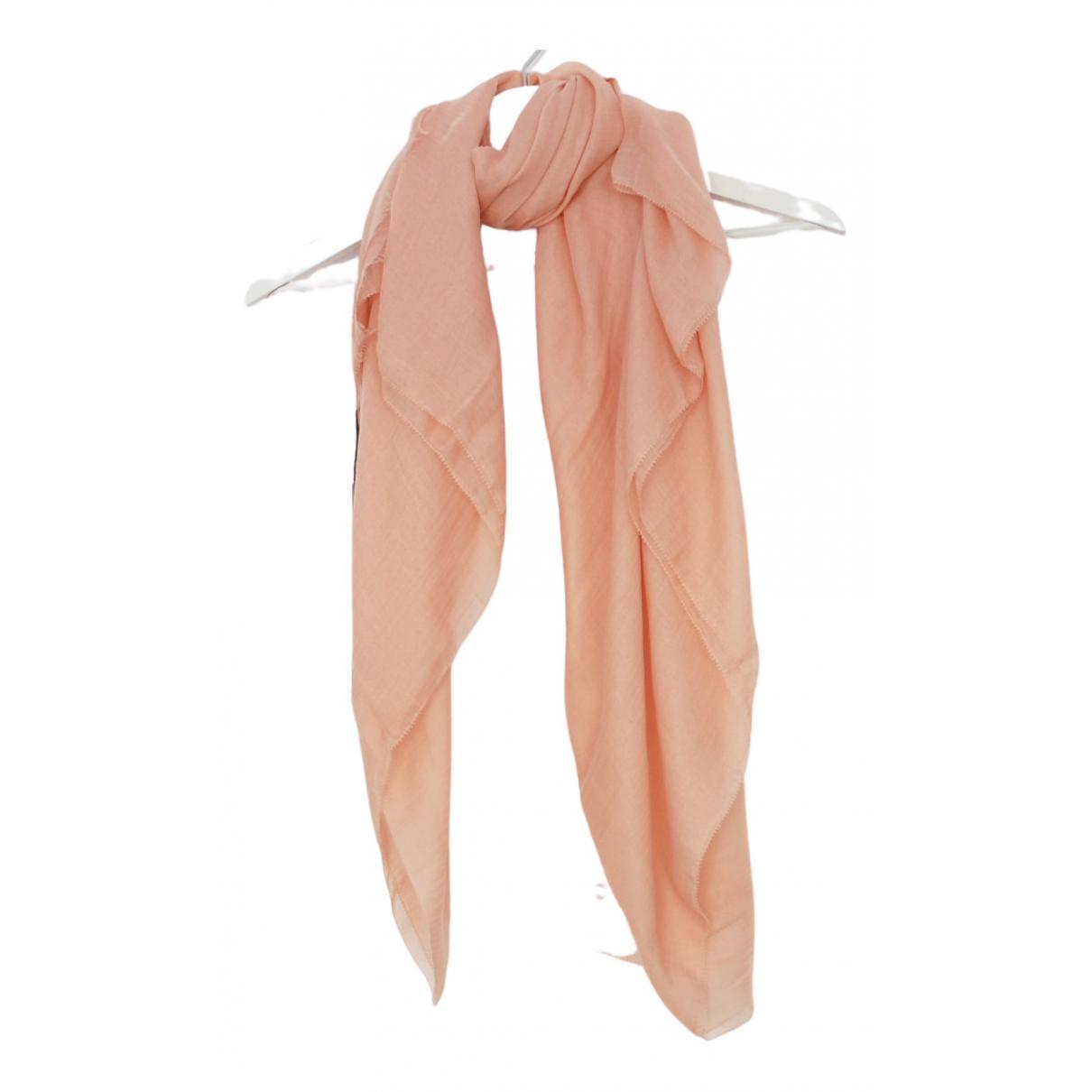 M Missoni - Foulard   pour femme en cachemire - rose