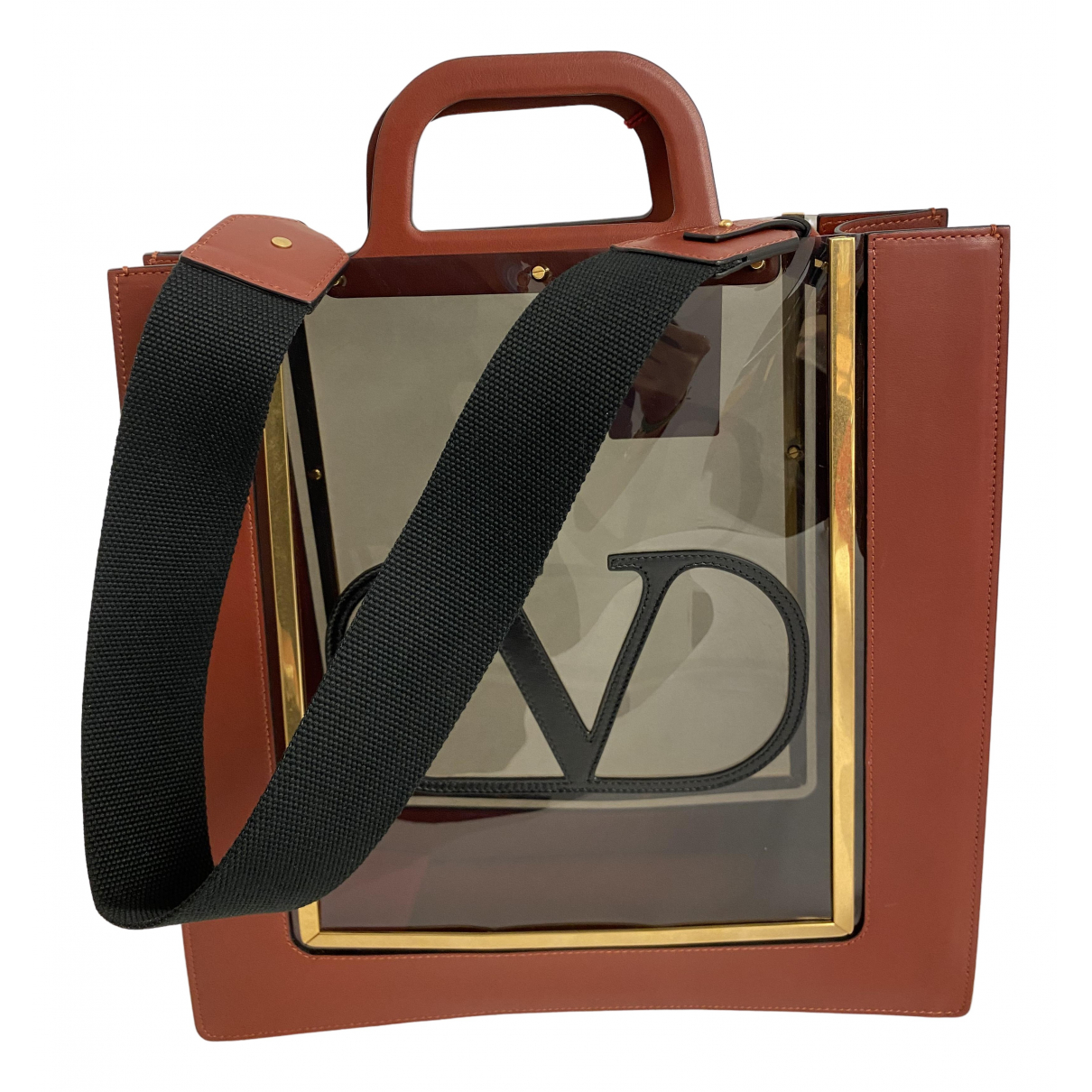 Valentino Garavani \N Brown Leather handbag for Women \N