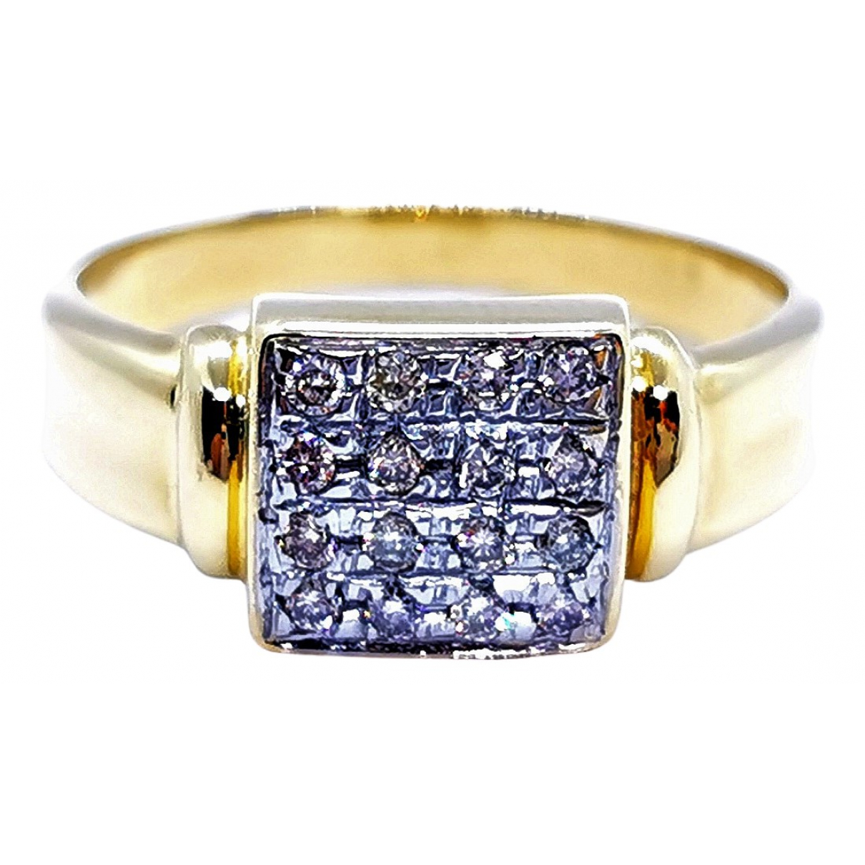 Autre Marque \N Gold Yellow gold ring for Women 56 EU