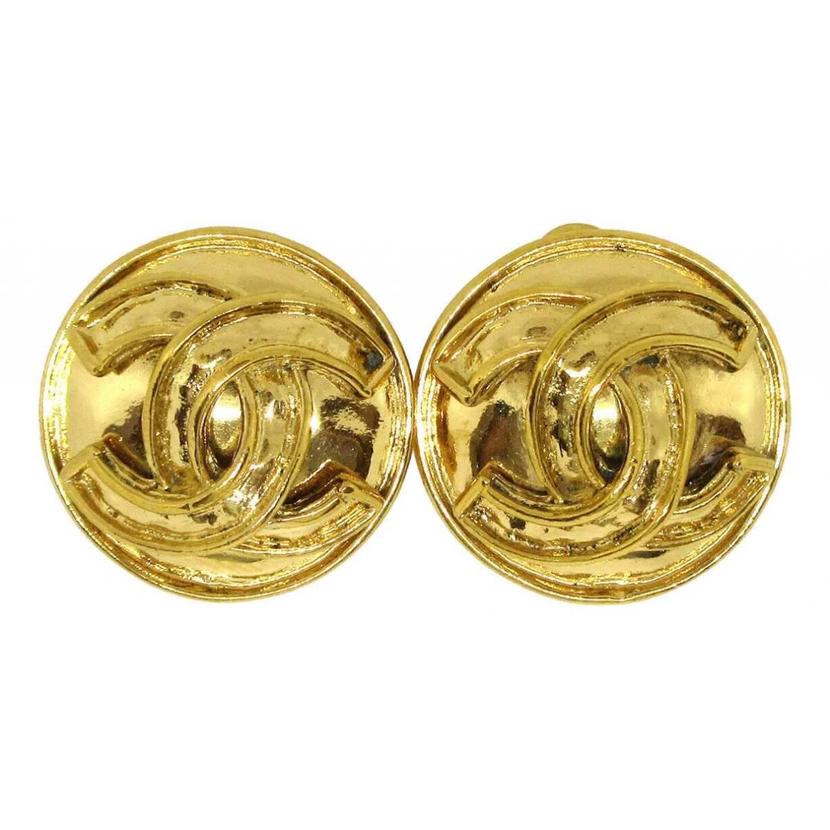 Chanel CC Metal Earrings for Women \N