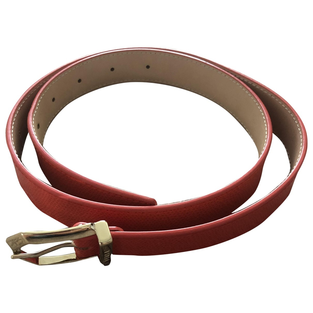 Furla \N Red Leather belt for Women S International