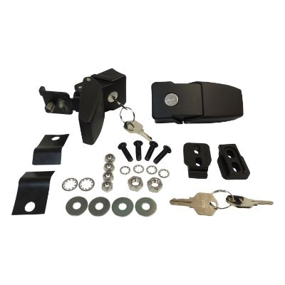 RT Off-Road Locking Hood Catch Kit (Black) - RT26057