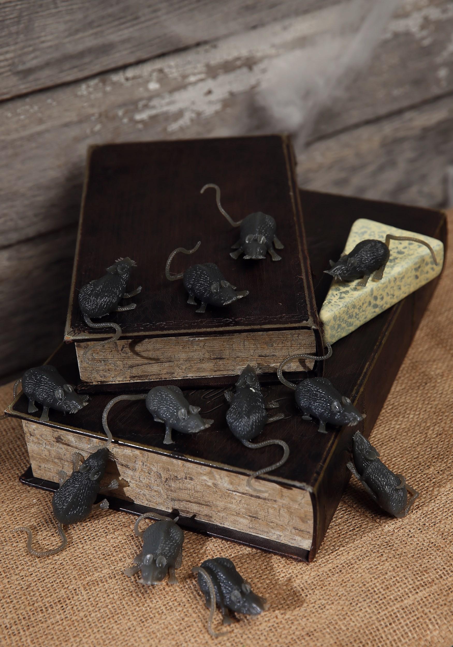 Halloween Bag of Mice Decoration