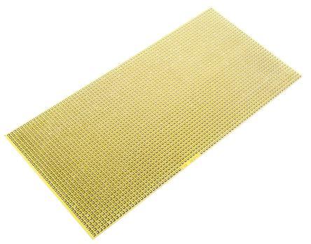 CIF AGP12, Single Sided Matrix Board FR4 with 1mm Holes 2.54 x 2.54mm Pitch, 200 x 100 x 1.6mm
