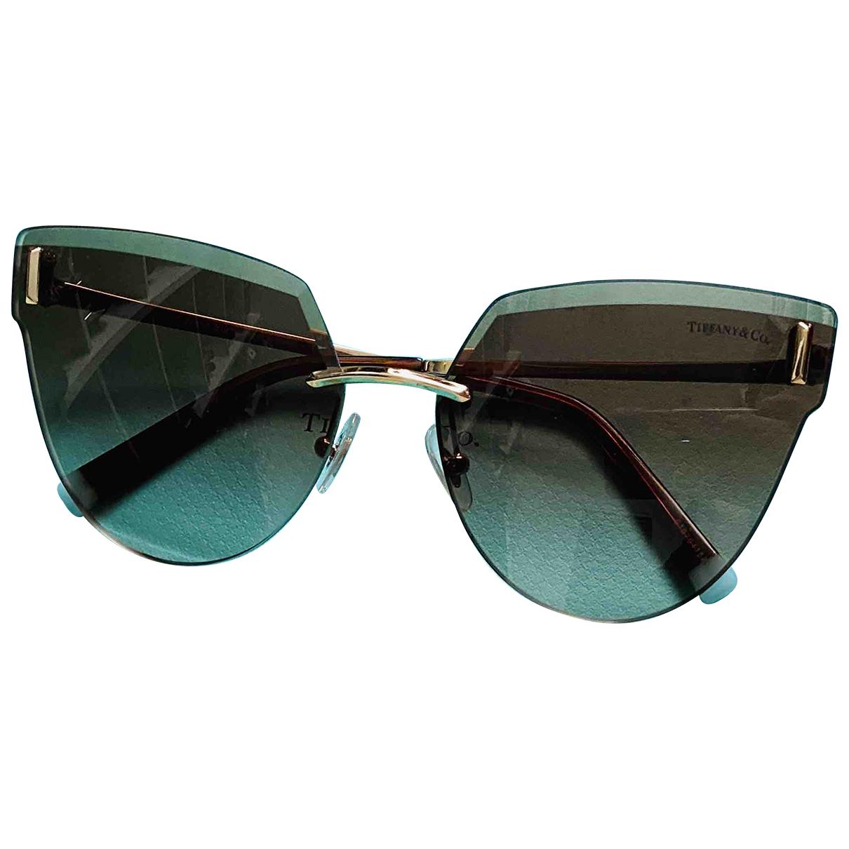 Tiffany & Co N Beige Metal Sunglasses for Women N