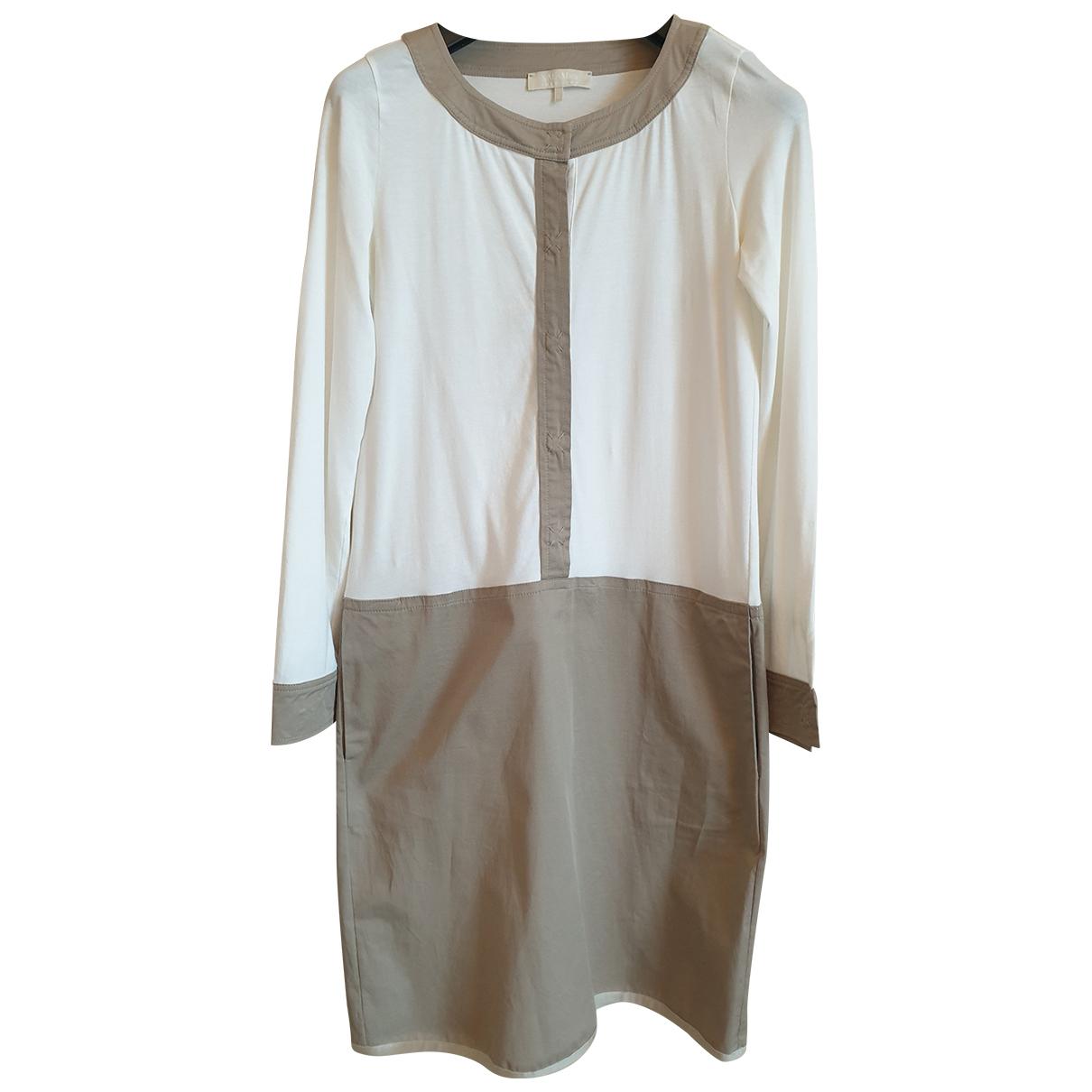 Max Mara s - Robe   pour femme en coton - beige