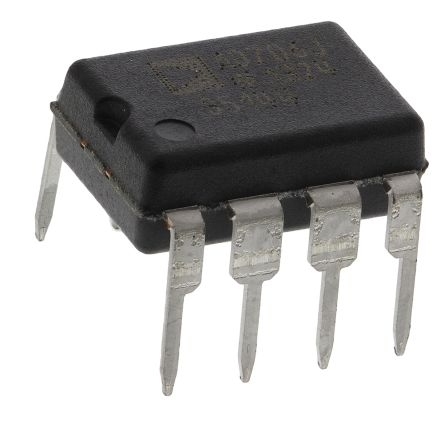 Analog Devices AD706JNZ , Op Amp, 800kHz, 8-Pin PDIP