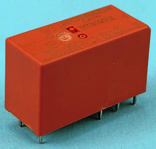 TE Connectivity , 12V dc Coil Non-Latching Relay SPDT, 12A Switching Current PCB Mount Single Pole