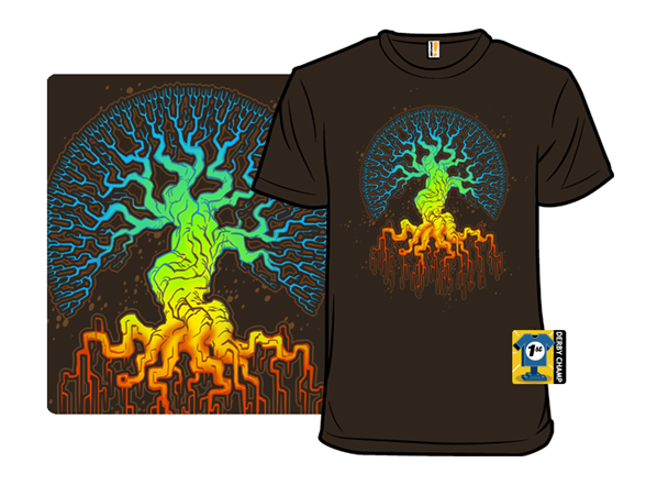 Fractal Tree Of Life T Shirt