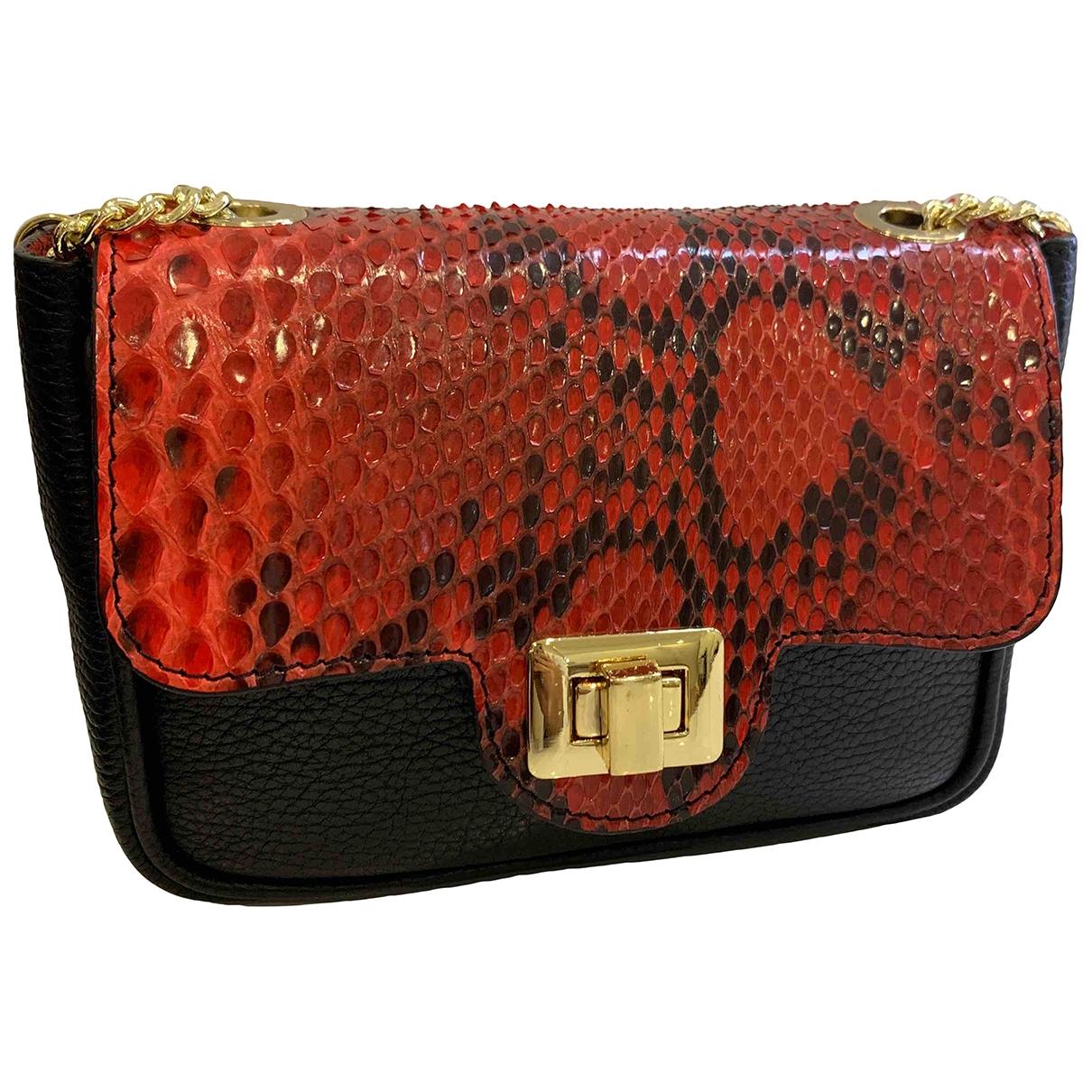 Non Signé / Unsigned \N Multicolour Python Clutch bag for Women \N