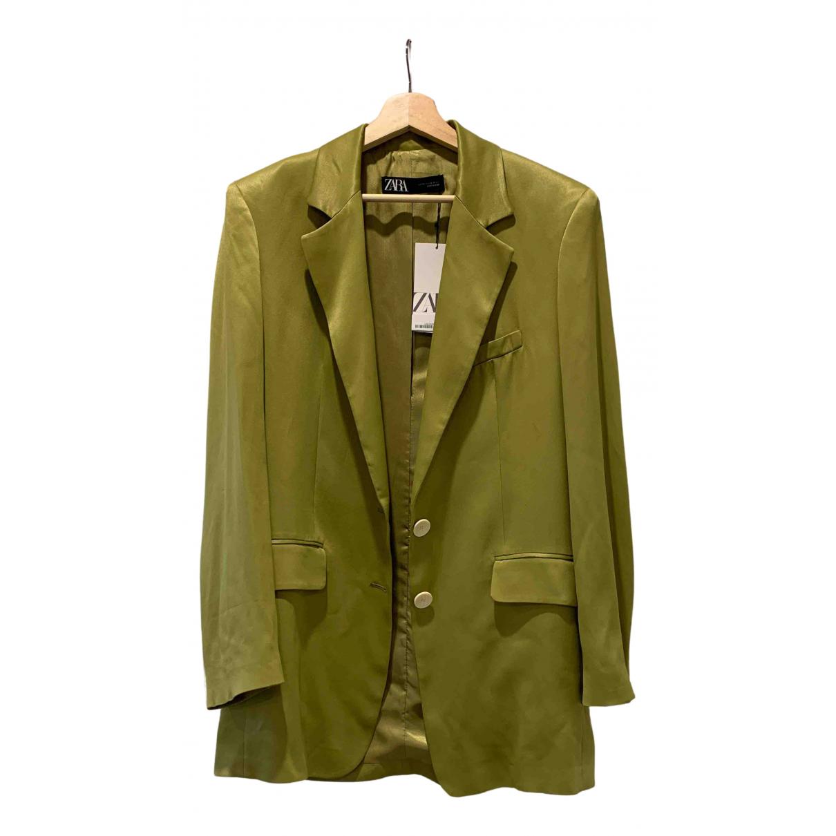 Zara \N Green jacket for Women XS International