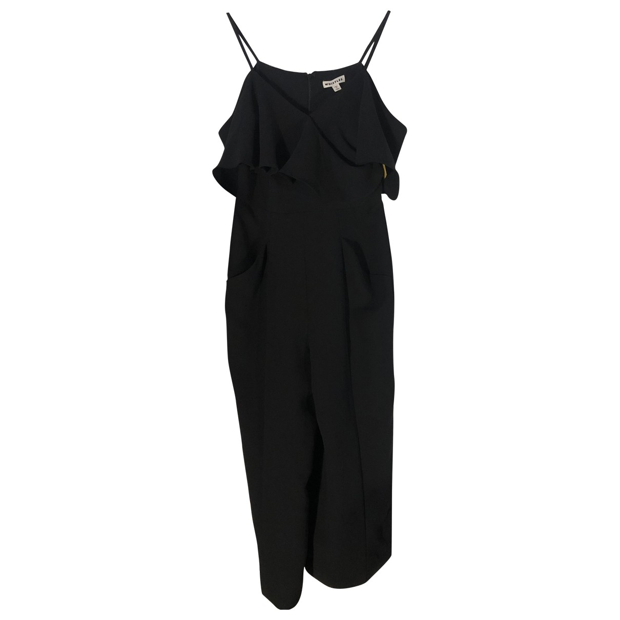 Whistles \N Jumpsuit in  Schwarz Polyester