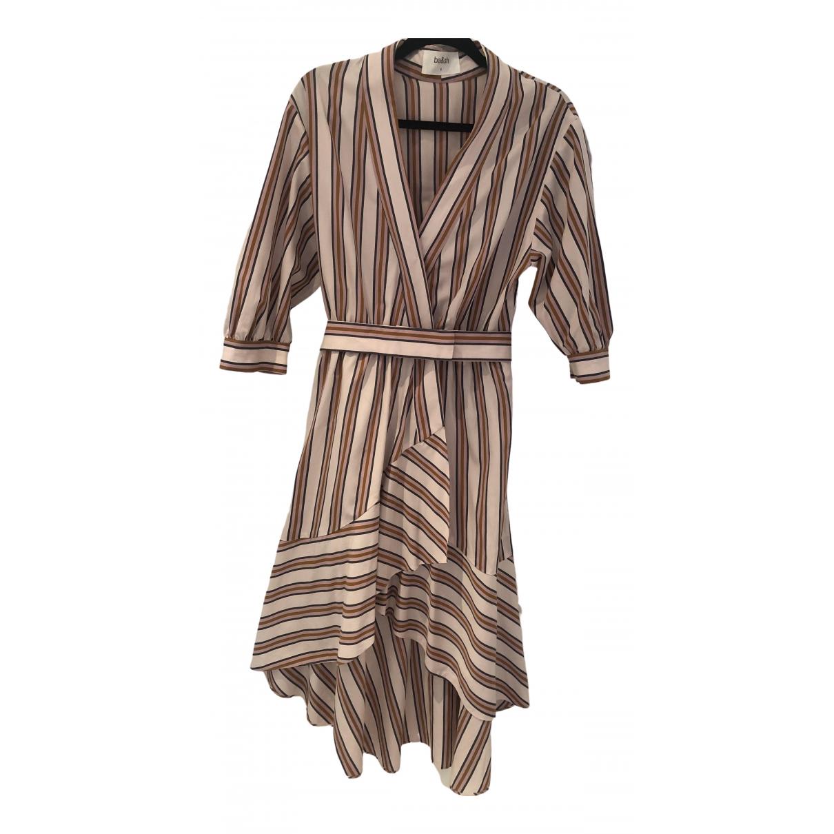 Ba&sh Spring Summer 2020 Kleid in  Beige Baumwolle