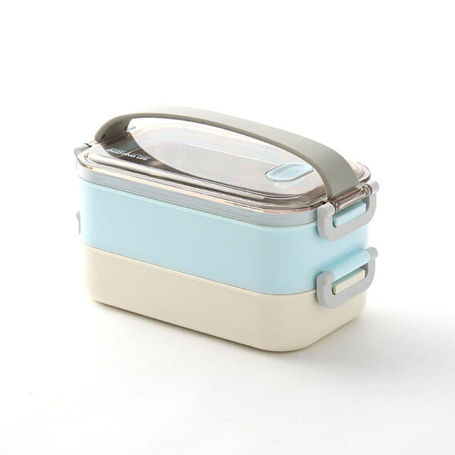 Durable Stainless Steel Seal Thermal Insulated Lunch Box Food Container Storage Box