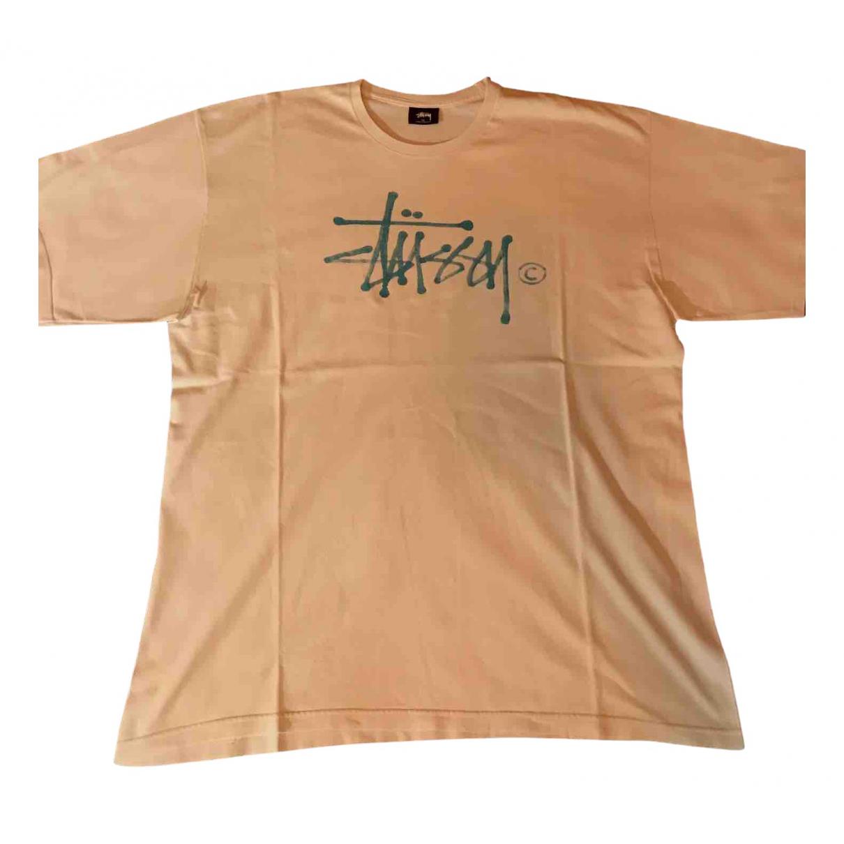 Stussy \N T-Shirts in  Weiss Baumwolle