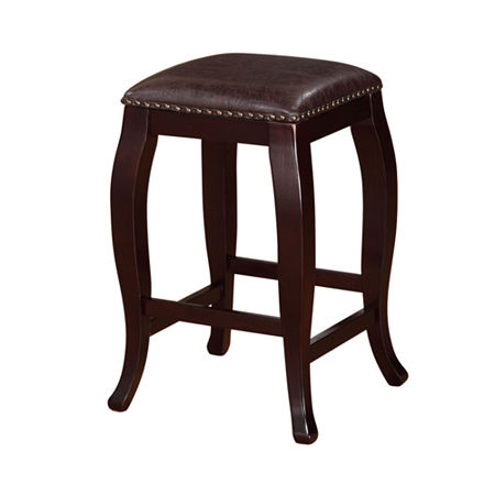 Nob Hill Barstool, One Size , Brown