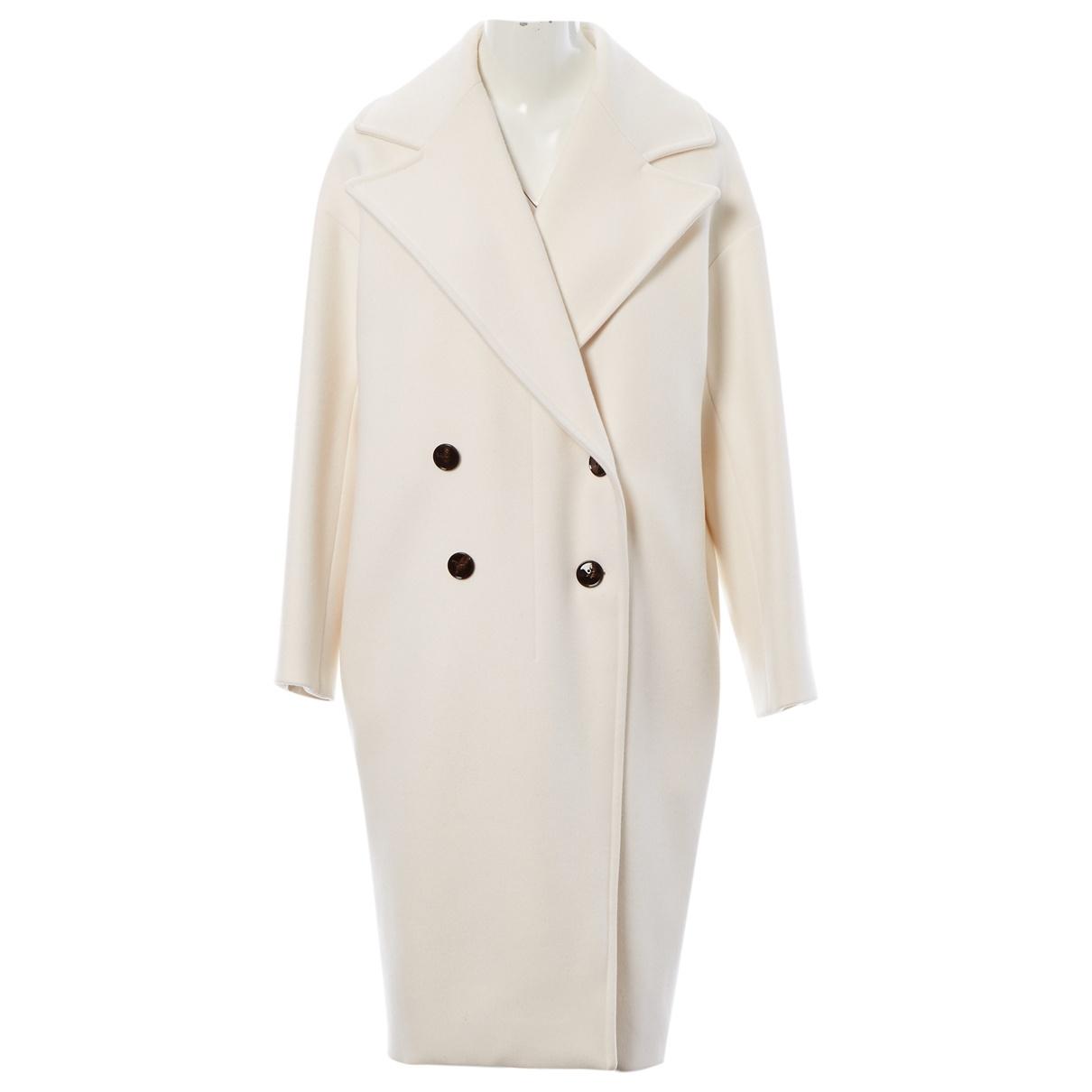 Dior \N Ecru Cashmere coat for Women 40 FR