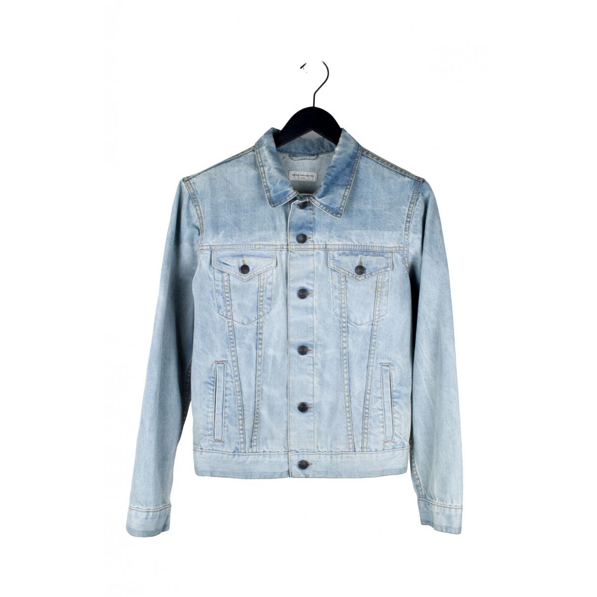 Dries Van Noten \N Jacke in  Blau Denim - Jeans