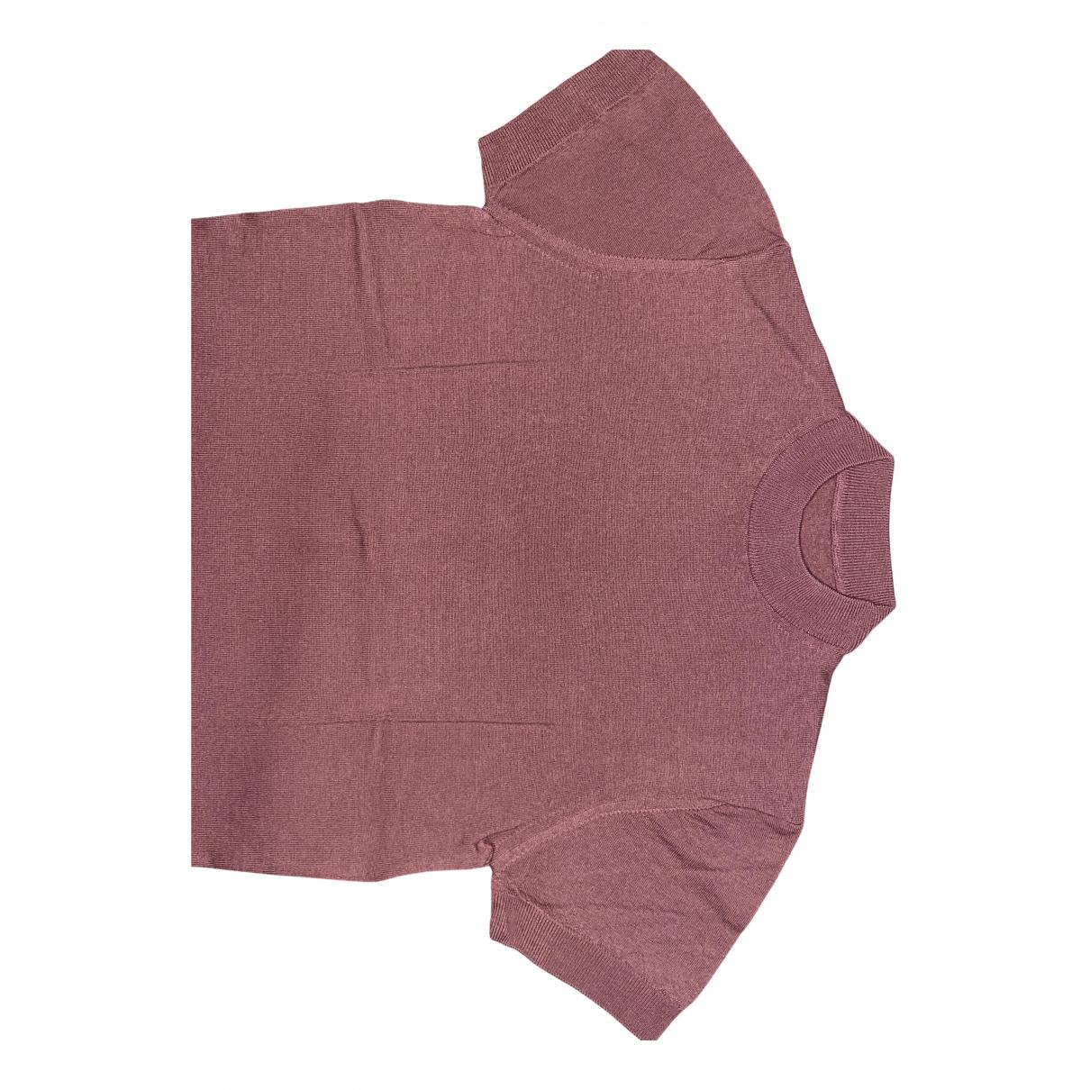 Zara - Tee shirts   pour homme en coton - rose