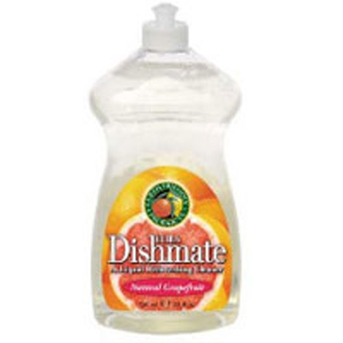 Ultra Dishmate Liquid Dishwashing Cleaner Natural Grapefruit 25 oz(case of 6) by Earth Friendly