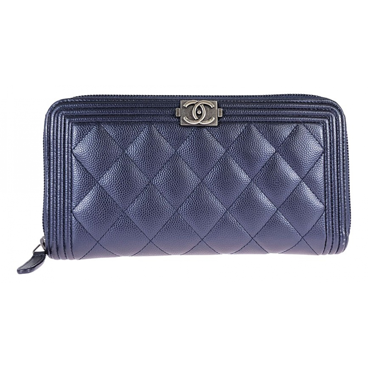 Cartera Boy de Cuero Chanel