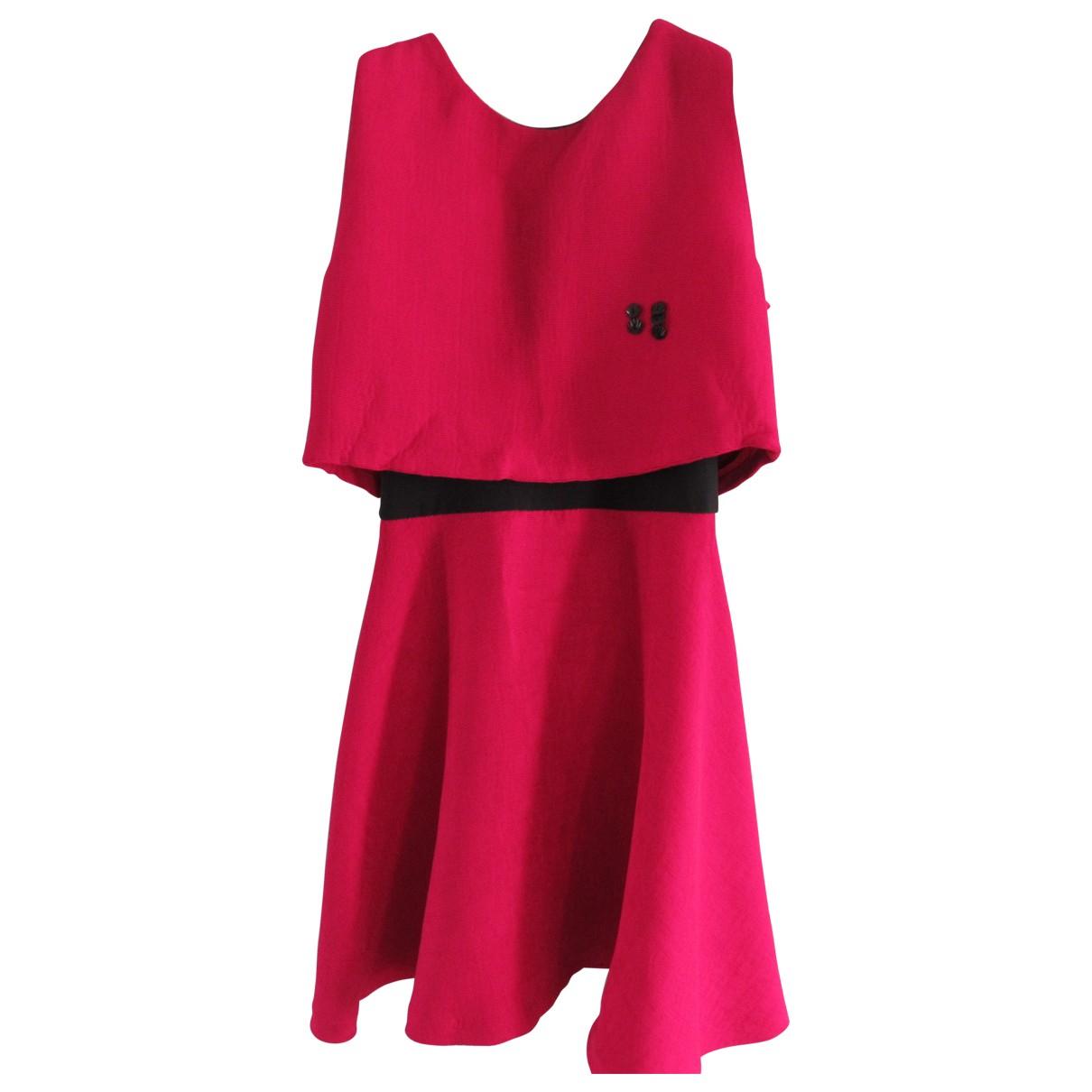 Maje \N Burgundy dress for Women 36 FR