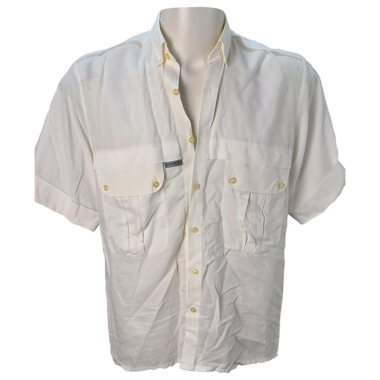 Adidas - Chemises   pour homme en coton - blanc