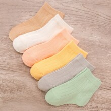 6 pares calcetines vistosos de niñitas