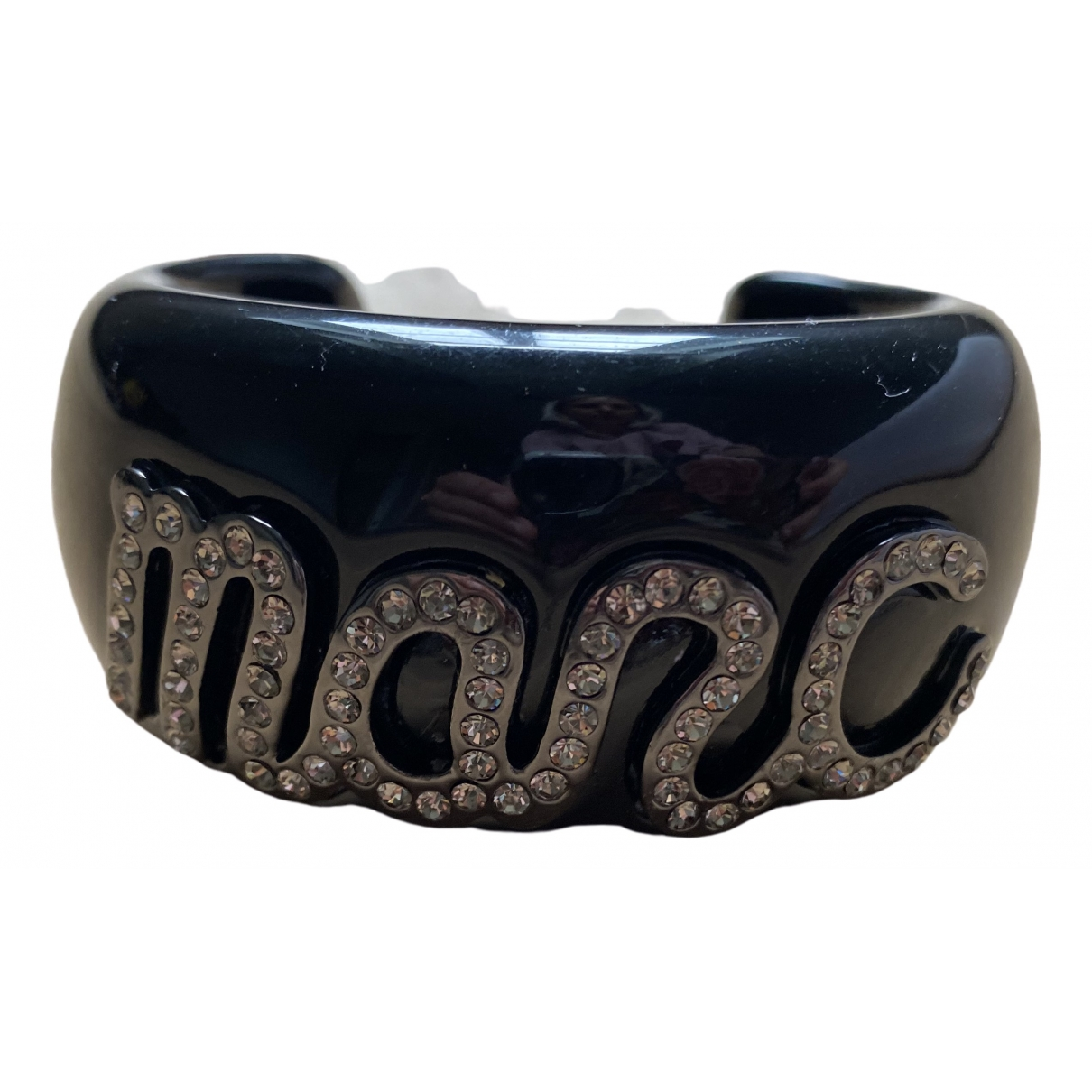 Marc By Marc Jacobs \N Armband in  Schwarz Kunststoff
