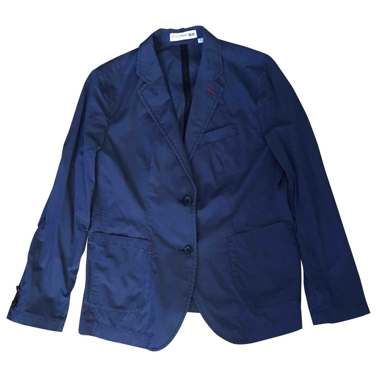 Uniqlo \N Blue Cotton jacket for Women XL International