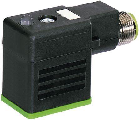 Murrelektronik Limited DIN 43650 Solenoid Connector, Black