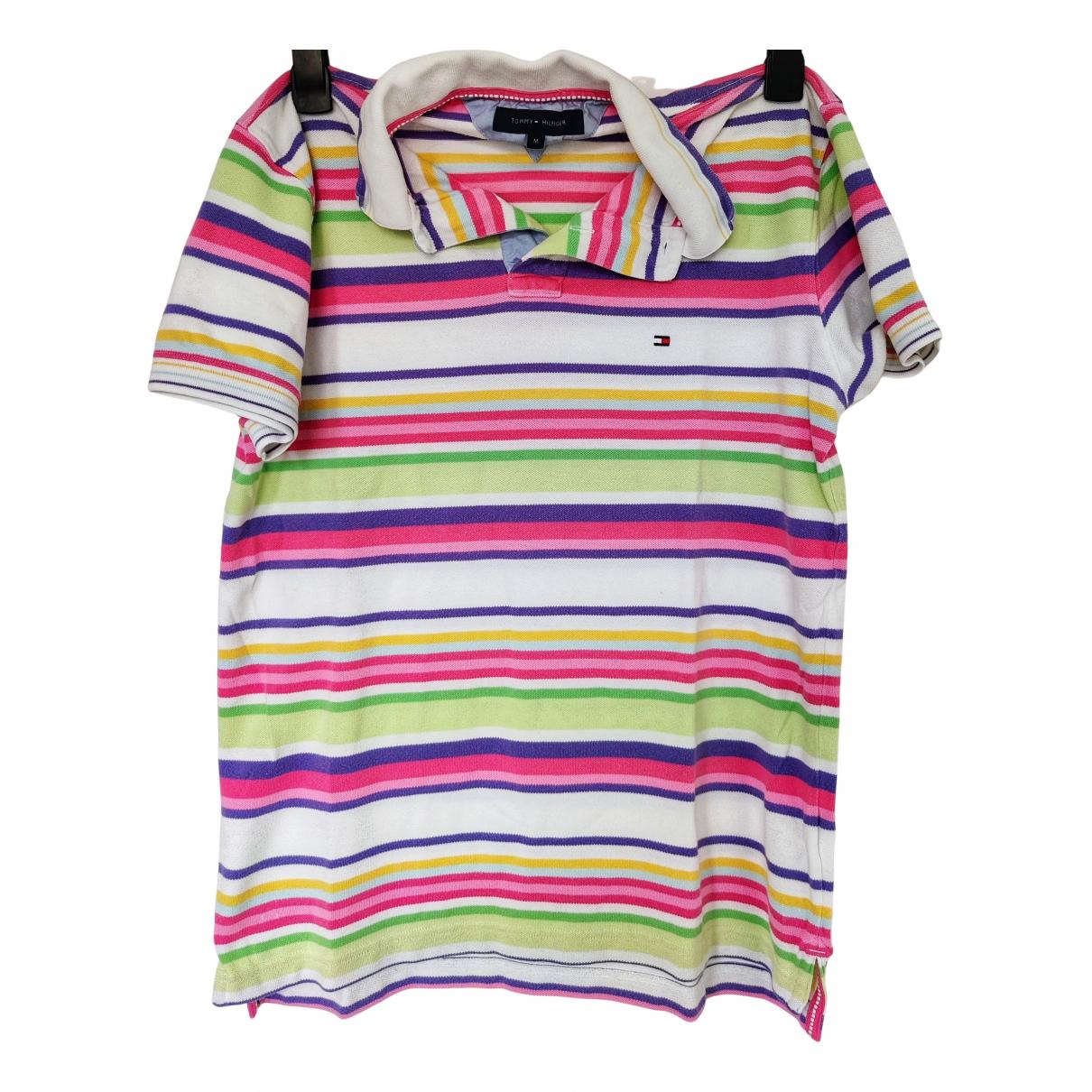 Tommy Hilfiger - Polos   pour homme en coton - multicolore