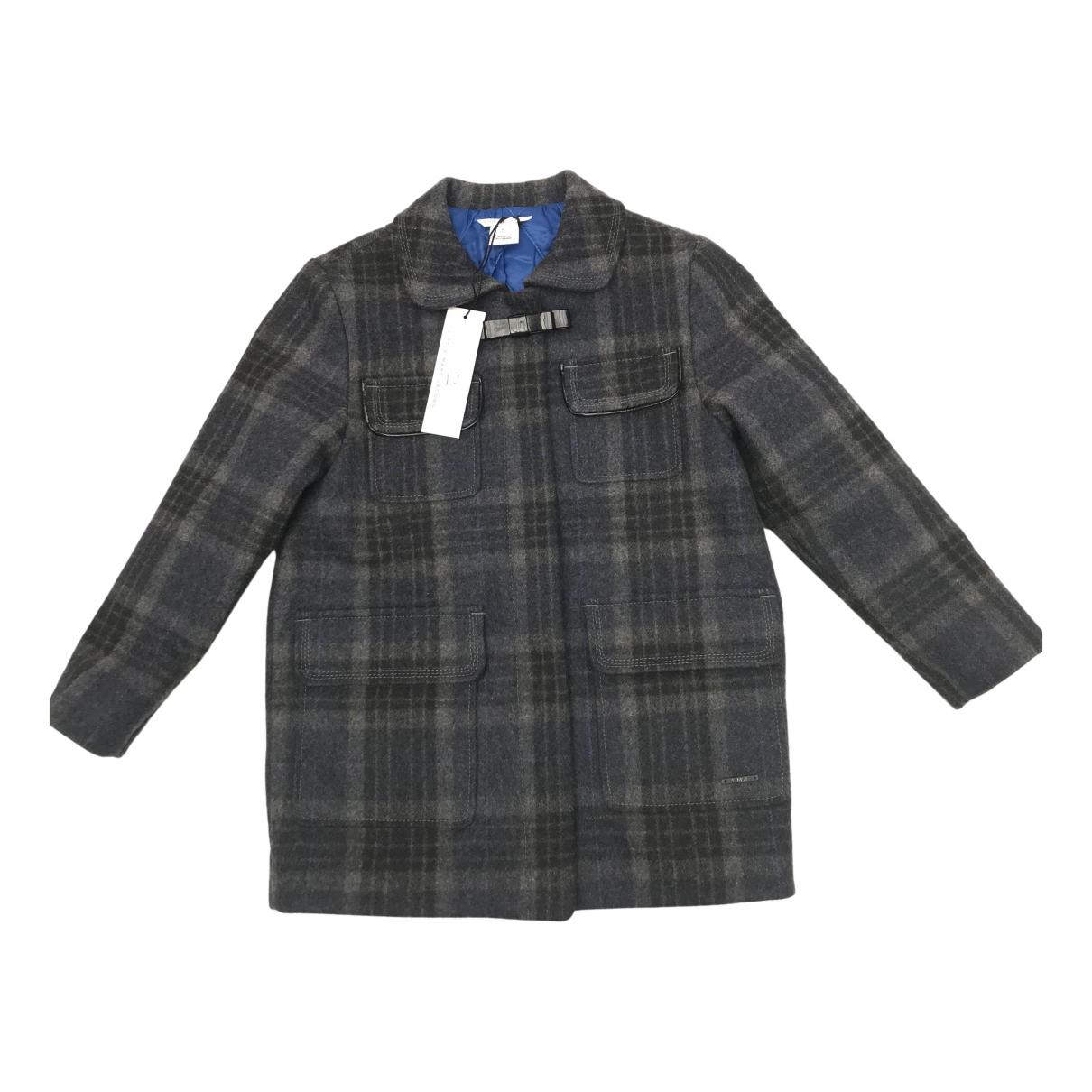 Little Marc Jacobs \N Jacke, Maentel in  Grau Wolle